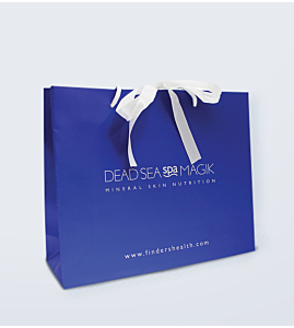Luxury Royal Blue Gift Bag