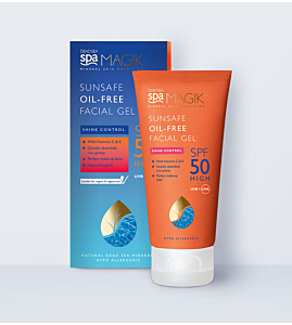 Sunsafe Oil-Free Facial Gel Spf50 50ml