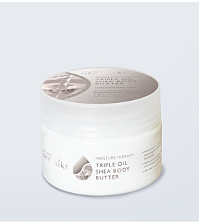 Organiks Moisture Therapy Triple Oil Shea Body Butter 250ml