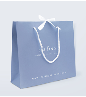 Luxury Blue Gift Bag