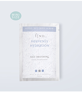 Heavenly Hydration Salt Brushing Sachet 50g
